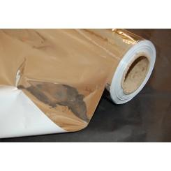 Mylar - Højreflekterende plastic folie. 1,25m bred - pris pr. meter