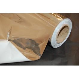 Mylar - Højreflekterende plastic folie. 1,20m bred - pris pr. m2